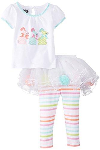mud pie bunny skirt set - 4