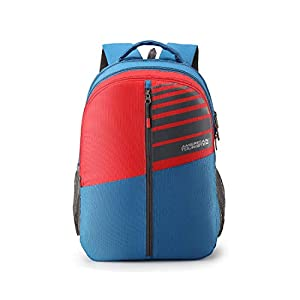 American Tourister Crone 29 Ltrs Blue Casual Backpack (FG8 (0) 01 101)