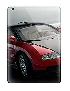 AnnaSanders Ipad Air Well-designed Hard Case Cover Bugatti Veyron Red Black Front Cars Other Protector