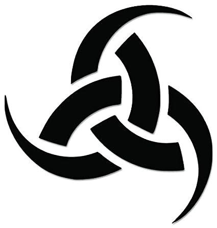 Amazon Odin Triple Horn Pagan Celtic Sign Symbol Vinyl Decal