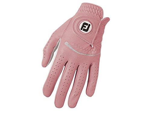 Spectrum Gloves - FootJoy Womens Spectrum Golf Glove - Pink (L, Regular Left Hand)