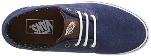 Vans Brigata, Baskets Basses Mixte Adulte Bleu (Suede - Insignia Blue/Plus)