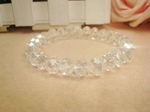 Ja and South Korea's foreign trade jewelry wholesale multi-colored glass beads fine sparkling crystal bracelet (0511)