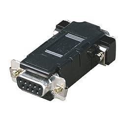 BLACK BOX ME211 Asynchronous Modem Eliminator (AME), DB9, Female/Female