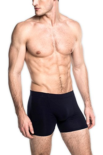 SilkCut Classic Boxer Brief (X-Large, Navy)