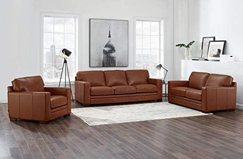 Hydeline Dillon 100 Leather Sofa