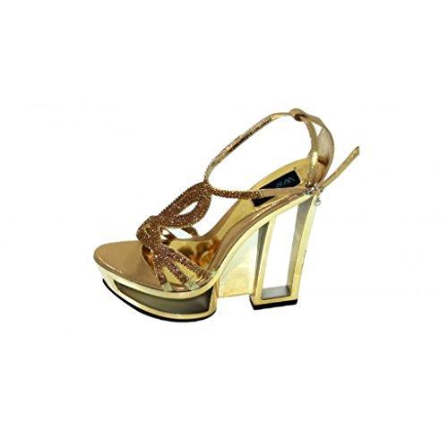 Wear oro Walk Uk da Sandali in Oro donna YYr6Cqw