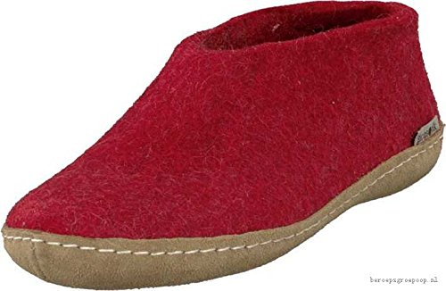 Glerups AA-08-00 Felt Shoe Junior Slipper, Red 26 by Glerups (Image #1)