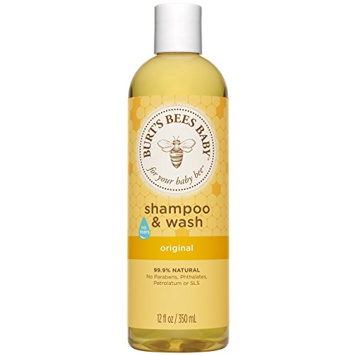 Burt's Bees Baby Bee Shampoo and Wash, 12 Ounce Bottles (Pack of 3)