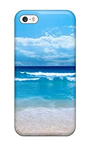 Special Design Back 1 Blue Waves Beachp Phone Case Cover For Iphone 5/5s