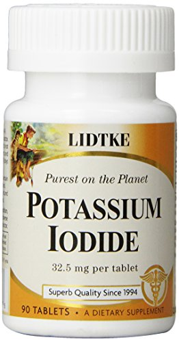 Lidtke Technologies Potassium Iodide Tablets, 90 Count by Lidtke
