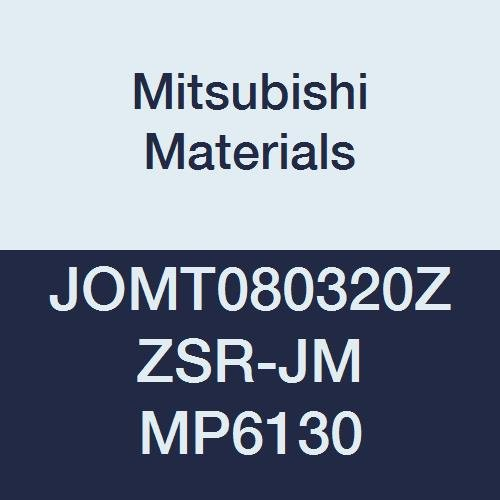 0.551 Inscribed Circle Coated Grade MP9130 0.091 Corner Radius 0.219 Thick Round Honing Case of 10 Mitsubishi JDMT140523ZDER-JL MP9130 Carbide Milling Insert Class M