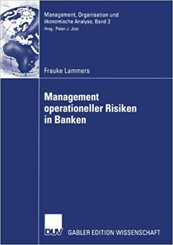 Management von operationellen Risiken in Kreditinstituten (German Edition)