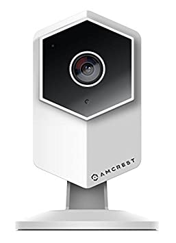 Amcrest UltraHD Shield 2K 3-Megapixel Dual-Band WiFi Video Security IP Camera w Two-Way Audio, MicroSD Recording, Wide 140 FOV, HD 3MP 2304 1296 20FPS IP3M-HX2 White Renewed