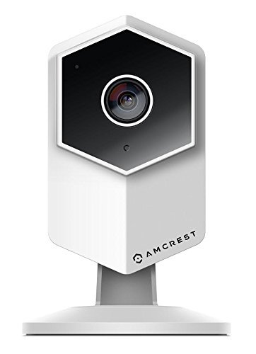 (Amcrest UltraHD Shield 2K (3-Megapixel) Dual-Band WiFi Video Security IP Camera w/Two-Way Audio, MicroSD Recording, Wide 140° FOV, HD 3MP (2304×1296) @20FPS IP3M-HX2 (White) (Renewed))