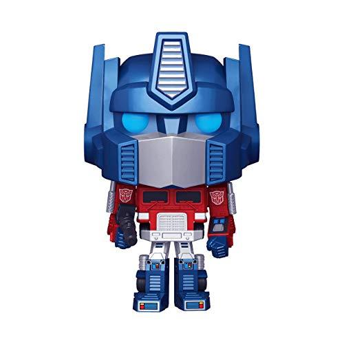 Funko Pop! Retro Toys: Transformers - Metallic Optimus Prime Amazon Exclusive