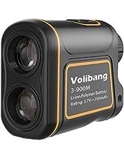 Entfernungsmesser, Volibang Laser Messgerät 1000 Yard 7X Multifunktions Golf Jagd Rangefinder Aufladbare Multifunktionaler Distanzmesser für Entfernung, Geschwindigkeit, Winkel und Höhe Messung