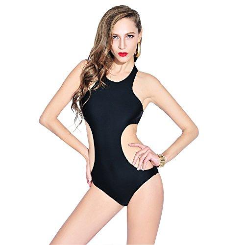 Lora Dew(TM) Raje de Baño de Una Sola Pieza sin respaldo del bikini traje de baño de las mujeres del resorte caliente Cubierta del vientre