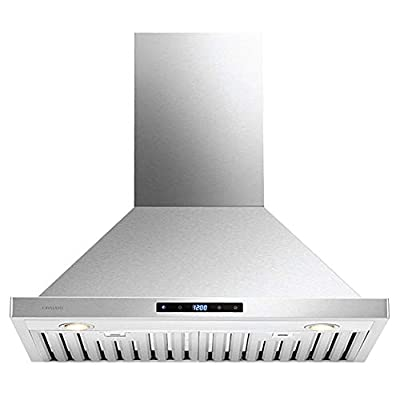 "CAVALIERE Wall Mounted 30"" Inch Range Hood 