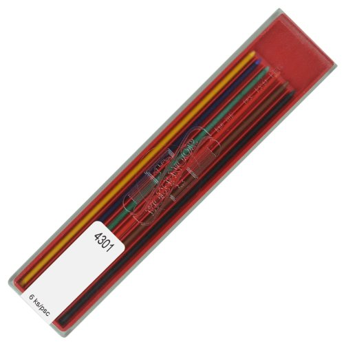 Koh-i-noor 2.0 mm Colored Leads for Technical Drawing. 4301
