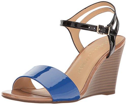 Athena Alexander Kvinna Sergia Wedge Sandal Blå Combo