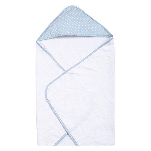 Trend Lab Sky Dot Hooded Towel, Blue (Polka Dot Hooded Towel)