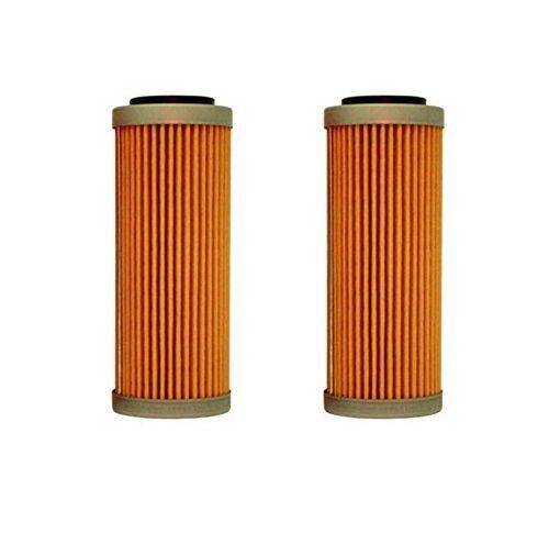 NEW OEM KTM OIL FILTERS 2 PACK 350 400 450 500 530 EXC-F SX-F XC-F XCF-W FACT. ED 2008-2017 2X 77338005100