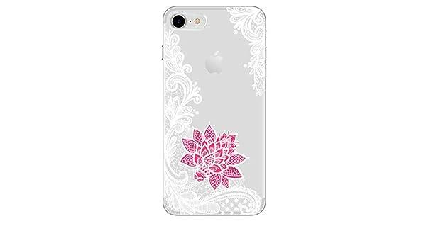 Amazon.com: Frozac Lace Mandala Case for iPhone X 8 7 6 6S ...