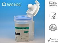 5 Pack of 10-Panel EZ Cup II Drug Testing Kit(COC+AMP+BAR+TCH+OPI+BZD+MDMA+MET+MTD+PCP)