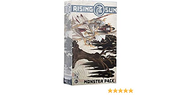 Asmodee Italia Rising Sun Monster Pack Expansión Juego de Mesa con espléndidas miniaturas, Color, 10303: Amazon.es: Juguetes y juegos