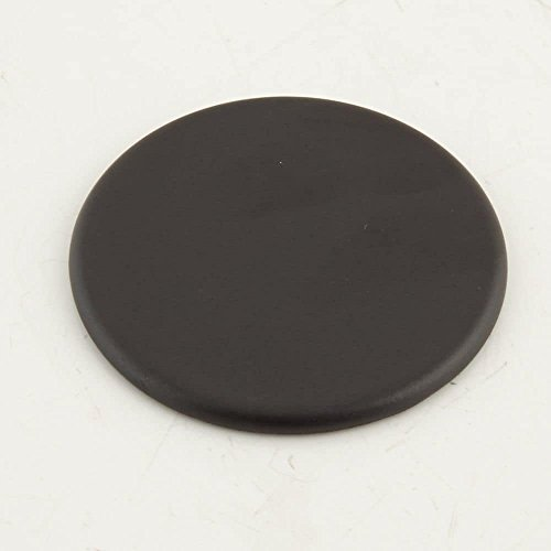 Bosch 00622483 Range Surface Burner Cap, 9,500-BTU Genuine Original Equipment Manufacturer (OEM) Part Black (Range Cap Black Burner)