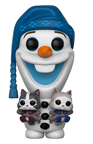 Funko Pop Disney Frozen Advenutre Olaf with Cats Collectible Vinyl Figure
