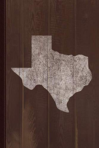 - Texas Home Vintage Journal Notebook: Blank Lined Ruled For Writing 6x9 110 Pages
