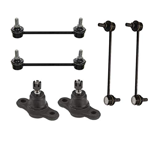 Detroit Axle - Front & Rear Sway Bar Links & Front Lower Ball Joints for 2009-2010 Hyundai Elantra - [2011-2012 Hyundai Elantra Wagon Only]