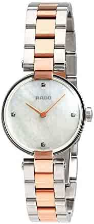 d06a94baae63 Rado Coupolse Mother of Pearl Diamond Dial Ladies Watch R22854913