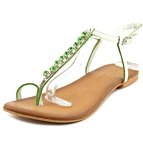Matisse Kent Women US 9 White Thong Sandal Matisse Leather Thongs