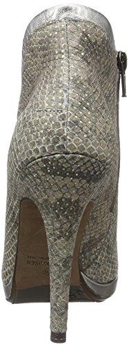 Peter Kaiser 96631, Botas Cortas de Tacón Mujer Marrón (NUBA DIAMAND GRIGIO CORFU 530)