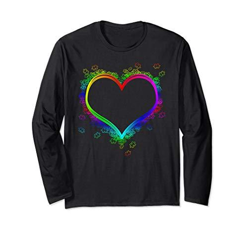 - Autism Puzzle Heart Shirt, Autism Awareness Long Sleeve T-Shirt