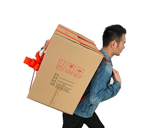 Treasure-house 1- personne Sangles de levage et d'artistes, facilement pour le transport de meubles/ré frigé rateur/Appliance/matelas/objets lourds, avec plus de l'é paule levage Aid Systè me de ceinture