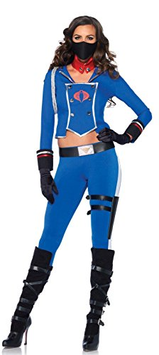Cobra Girl Womens GI Joe Cobra Commander Costume Adult Costume - (Female Gi Joe Costume)