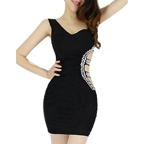 Pinkyee CLAK0232627 - Vestido Negro