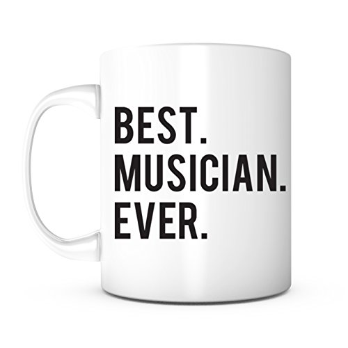 Best Musician Ever-Best Music Teacher,Best Violinist,Best Composer,Best Pianist,Musician Gifts,Music Gift,Christmas Gift,Birthday Gift,Father's Day Gift, Mother's Day Gift (The Best Guitarist Ever)