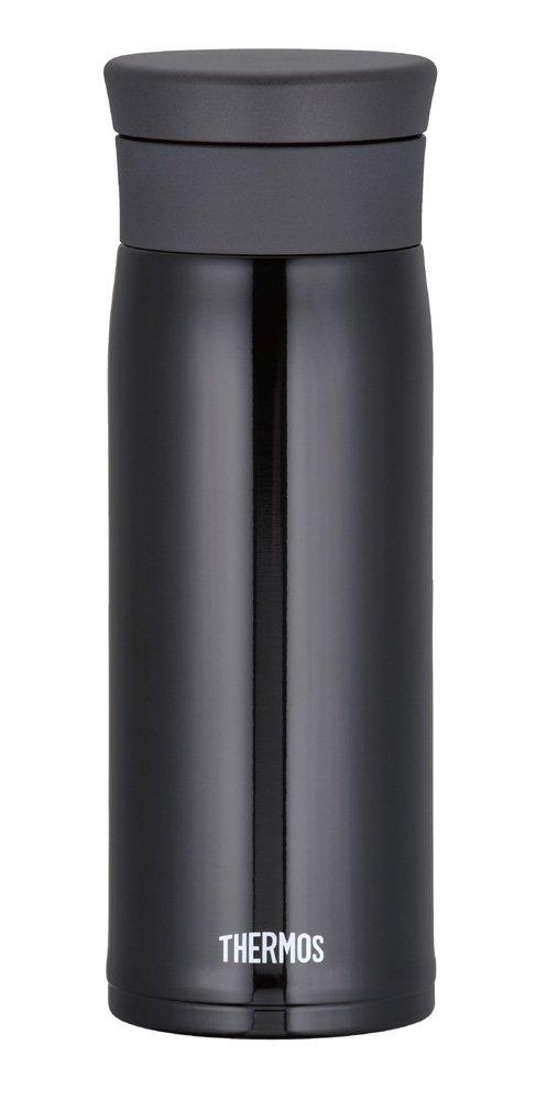 THERMOS MOTION JMZ-480-BK Black   Thermal Stainless Mug 0.48 liter ( 16.2 oz.) (Japanese Import)