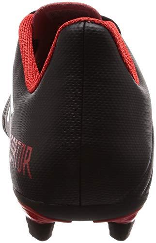 Red Football Predator Homme 18 Pour negbás Ftwbla 4 Fxg Adidas Chaussures Noir De 001 qYd75