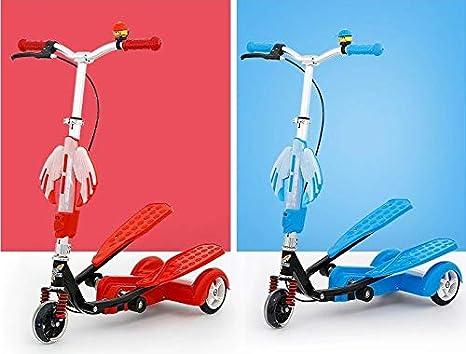 YAzNdom Biplano para niños Triciclo Infantil Rana de Fitness Doble Pedal (Color : Pink) : Amazon.es: Juguetes y juegos