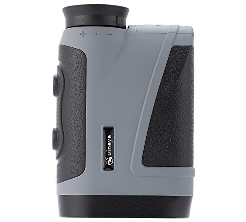Uineye Golf Rangefinder - Range : 5-1950 Yards, 0.33 Yard Accuracy, Laser Rangefinder with Height, Angle, Horizontal Distance Measurement Perfect for Hunting, Golf, Engineering Survey (Grey) by Uineye (Image #4)