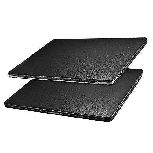 MacBook Pro 15 Case, Icarercase Microfiber Leather Slim Hard Shell Cover for Apple MacBook Pro 15
