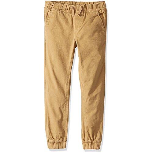 Calvin Klein Big Boys' Electric Stretch Jogger Pant, Tan, 20