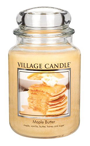 Village Candle Maple Butter Scented