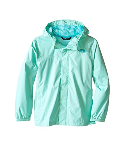 The North Face Zipline Rain Jacket Girls' Ice Green Y_XL by The North Face